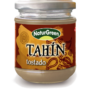 Tahín tostado 300 gr. Naturgreen Bio.